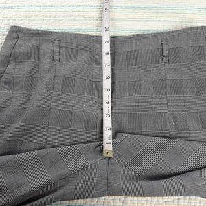 Zara Pants - Zara Basic L Black White Blue Plaid Dress Pants